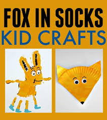 Fox In Socks Dr Seuss Kid Crafts Today S Creative Ideas