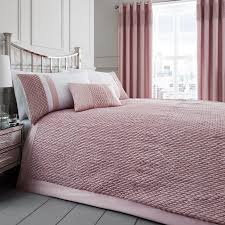 roma blush quilted bedspread harry