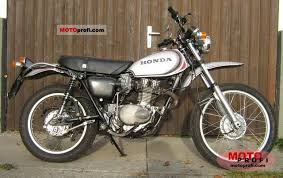 honda xl 250 1975 specs and photos