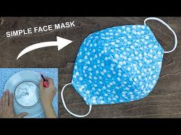 diy face mask no sewing machine