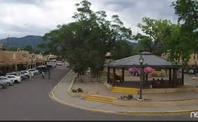 live taos plaza cam made in new mexico