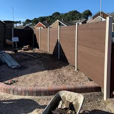 Cladco Profiles Ar Twitter Cladco Composite Fence Panels In Coffee With Ivory Posts Look Fantastic On This Recent Installation By Rosewarn Construction Low Maintenance Means You Don T Have To Re Paint Them Simply