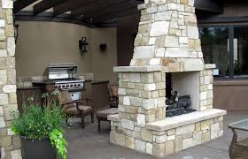 georgetown patio and fireplace
