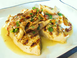 Grilled Halibut Recipe with Garlic ...