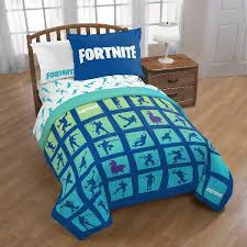 minecraft kids twin full comforter and