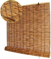 koovin roller blinds bamboo shades reed
