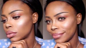 contour routine for dark skin