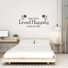 And They Lived Happily Ever After Wall Sticker Wall Sticker Express Wall Stickers Bedroom Wall Sticker Wall Stickers
