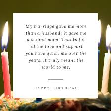 happy birthday mother in law birthday message for mother