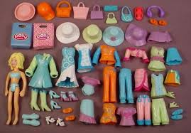 polly pocket 2005 54 piece lot of