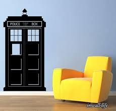 Doctor Who Tardis Wall Decal Police Box Kids Wall Vinyl Dr Wish