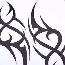 Meski Tymczasowy Tatuaz Tribal Dla Mezczyzn Pol Rekawa Wodoodporny