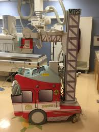 Portable Xray Machine Wraps Medical Equipment Vinyl Wraps