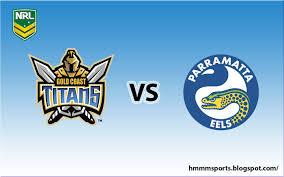 Gold Coast Titans vs Parramatta ...