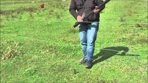 Fencing Permanent Plastic Post Youtube