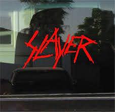 Slayer Band Stickers Custom Sticker Shop