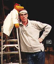 Richard Hunt with Scooter   Muppets, Famosos, Fraggle rock