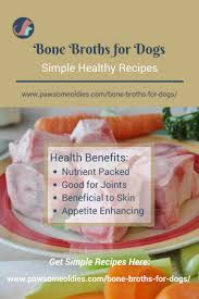 bone broths for dogs with arthritis
