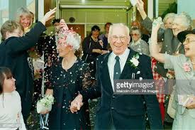 Ivy Butler and Tom Bryant after their marriage at Chester Register... News  Photo - Getty Images