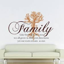 Family Like Branches Wall Decal Family Tree Art Removable Wall Decals Ellaseal
