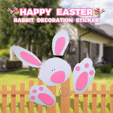Party Supplies Felt Easter Rabbit Diy Craft Courtyard Decoration Fence Bunny Pirate Birthday Party Pirate Party Decorations From Jaffaga006 7 7 Dhgate Com