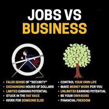 Jobs VS. Business - Black women building wealth   Facebook