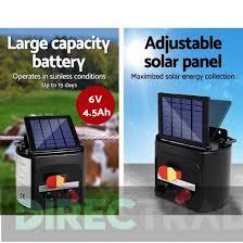 Solar Electric Fence Energiser 5km