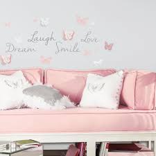 Butterfly Dream Peel And Stick Wall Decals Roommates Decor