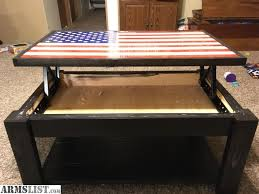 trade flag concealment coffee table