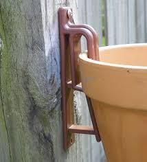 Hanging Garden Pots Fence Flower Pots Plant Pot Hangers Hang A Pot