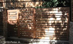 Custom Modern Horizontal Wood Fence Pasadena La Canada And Flintridge