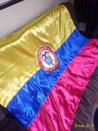 Bandera De Colombia 1.40 X 1.10 Satinada Cocida Con Escudo ...