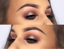 new years eve makeup look rebecca