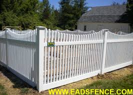 Ohio Fence Company Eads Fence Co Ohio Vinyl Fencing Eads Fence Company