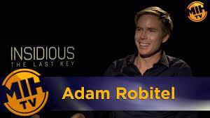 Adam Robitel Insidious: The Last Key Interview - YouTube