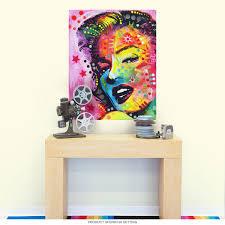 Marilyn Monroe Dean Russo Pop Art Wall Decal At Retro Planet