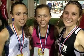 Photos - 2015 Texas Meet of Champions - John Sullivan - G-1600-1-3 Abby Gray(c)  1st, Elizabeth Reneau(l) 2nd, Sophie McCannon 3rd
