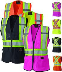 hi vis women s safety vest pioneer