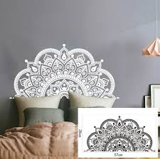 Creative Removable Mandala Bedside Sticker Wall Stickers Wall Decals For Home Bedroom Decoration 28x57cm Wish