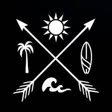 Pin By Cari Gimenez Costa On Tatuagem In 2020 Beach Tattoo Palm Tree Tattoo Surf Tattoo