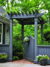 17 Beautiful Garden Fence Concepts Backyard Fences Backyard Fence Decor Front Yard