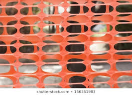 Orange Construction Fence Images Stock Photos Vectors Shutterstock