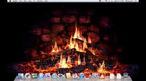 macos 3d screensavers fireplace lite