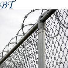 China Installation All Parts Post Gates Chain Link Fence China Security Fence Galvanized Chain Link Fence