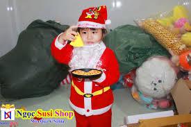 Bộ Đồ Noel Cho Bé (Từ 1 Đến 8 Tuổi) Chất Vải Nhung - Bán Lẻ Giá Sỉ ...