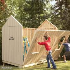 how to build a shed on the the