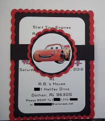 Cars Birthday Invitations Milco Invitaciones De Cumpleanos