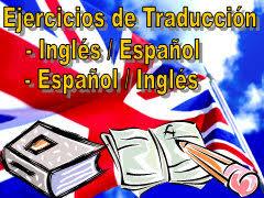 ejercicios de traducción inglés