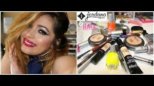 jordana cosmetics haul shipping