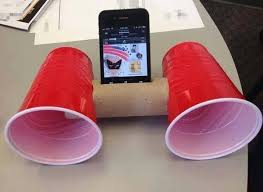 Image result for iphone speaker diy easy